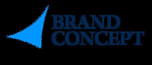 Logo brand concept